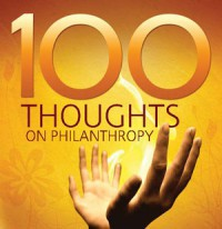 100 Thoughts on Philanthropy