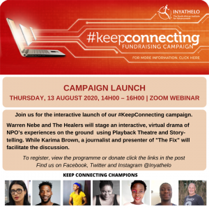 Data is a human right: Launch of the #keepconnecting campaign